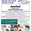 SWALCO Household Chemical Waste Event Flyer